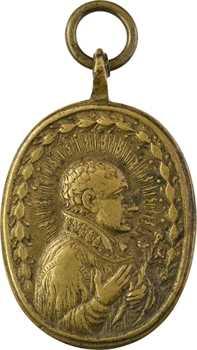 Italie, Saint François Borgia, fonte jésuite, s.d. (XVIIIe S.)