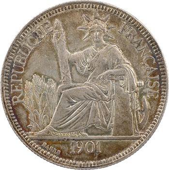 Indochine, 1 piastre, 1901 Paris