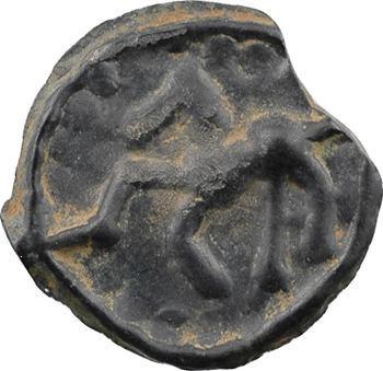 Sénons, potin au pseudo-cimier, IIe-Ier s. av. J.-C