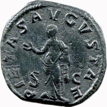 Otacilia Severa, sesterce, Rome, 249