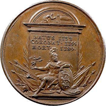 Angleterre, série des Rois par Jean Dassier, Henri II, s.d. (c.1731-1732)