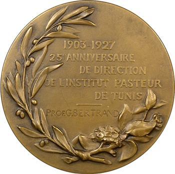 Tunisie, Charles Nicolle, directeur de l'Institut Pasteur de Tunis, 1903-1927