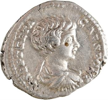 Géta, denier, Rome, 202