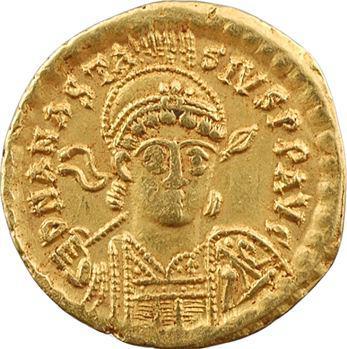 Anastase, solidus, Constantinople, 3e officine, 491-498