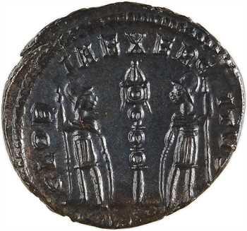Constantin II, nummus, Trèves, 330-331