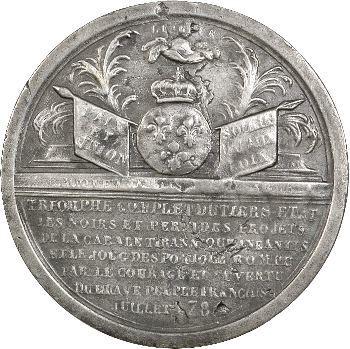 Constitution, retour de Jacques Necker au ministère des finances, 1789 Suisse ?