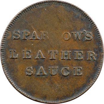 Royaume-Uni, Sparrow marchand de Londres, token, c.1825