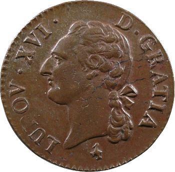 Louis XVI, demi-sol de bronze, 1785/4, 2d semestre, Paris