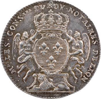 Lyonnais, Lyon (ville de), notaires, 1715
