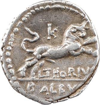 Thoria, denier, Rome, 105 av. J.-C.