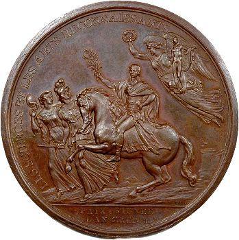 Directoire, le Traité de Campo Formio et le Général Bonaparte, par Duvivier, An 6 (1797)