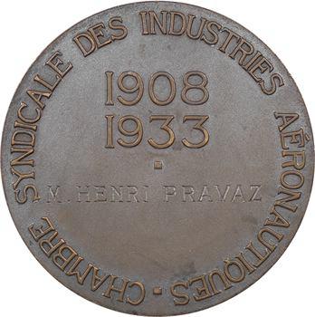 Aviation : chambre syndicale des industries aéronautiques, par Mascaux, 1933 Paris