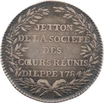 Orient de Dieppe, Société des Cœurs réunis, 1784 Paris