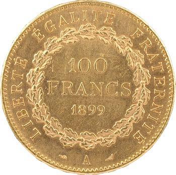 IIIe République, 100 francs Génie, 1899 Paris