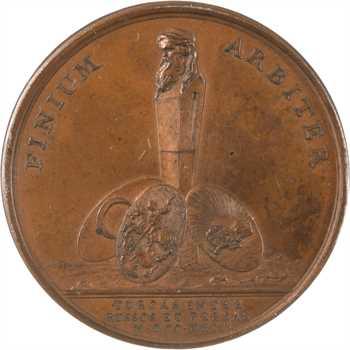 Russie/France/Turquie/Perse, Louis XV, médiation de la France entre la Turquie, la Russie et la Perse, 1724 Paris, PCGS SP63
