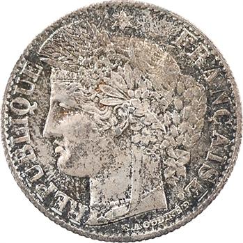 IIIe République, 50 centimes Cérès, 1873 Paris
