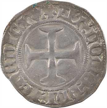 Bretagne (duché de), Jean V, blanc aux quatre mouchetures, s.d. (c.1423-1436) Morlaix