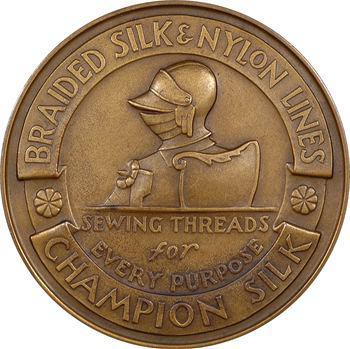 États-Unis, 75ème anniversaire de la société Gudebrod Bros, 1945 New York