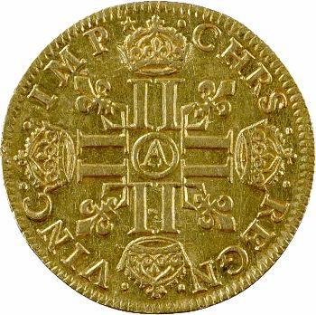 Louis XIII, louis d'or, 1641 Paris
