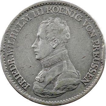 Allemagne, Prusse (royaume de), Frédéric-Guillaume III, thaler, 1818 Berlin