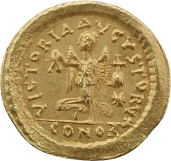Zénon, trémissis, Constantinople, 475