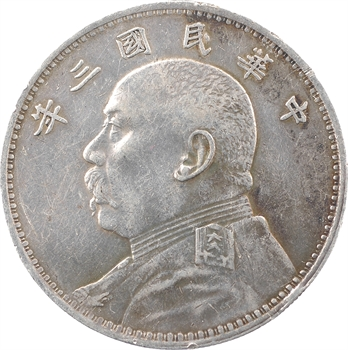 Chine (République de), un dollar, An 3 (1914)