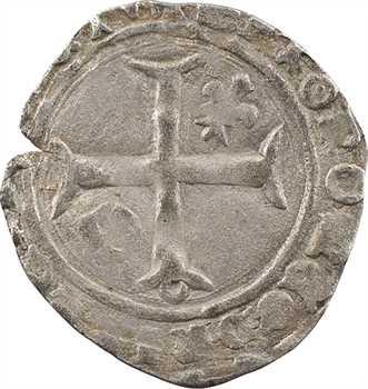 Duc de Bourgogne (au nom de Charles VI), demi-guénar 3e émission, avril 1419-février 1420, Troyes