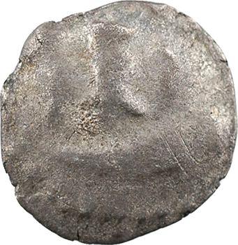 Grande-Bretagne, Durotriges, quart de statère, type au bateau, c.60 av. J.-C.-20