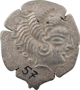 Coriosolites, statère de billon, classe IV au nez orné, c.80-50 av. J.-C.