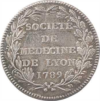Lyonnais, Lyon, Société de Médecine de Lyon, par Chavanne, 1789 Paris