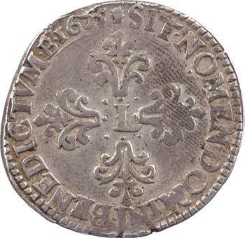 Louis XIII, demi-franc 1er type, 1625 Toulouse