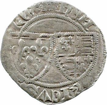 Henri VI, petit blanc aux écus, Rouen