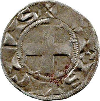 Louis VII, obole 3e type, Paris