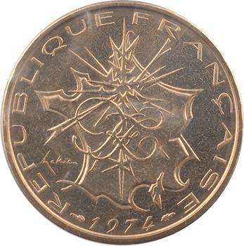 Ve République, essai de 10 francs Mathieu, 1974 Pessac