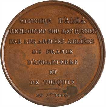 Russie/France, victoire d'Alma par les troupes anglo-françaises le 20 septembre, 1854 Paris