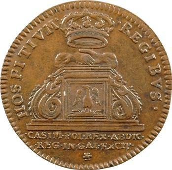 Nivernais, Jean-Casimir, roi de Pologne, décédé à Nevers en 1672