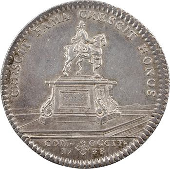 Languedoc (États de), statue équestre de Louis XIV, 1733 Paris