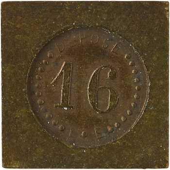IIIe République, poids de 16 carats, s.d