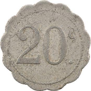 Guyane, Cayenne, F. Tanon et Cie, 20 centimes, s.d. (c.1928)