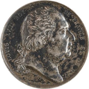 Louis XVIII, Chambre des Députés, 1823 Paris
