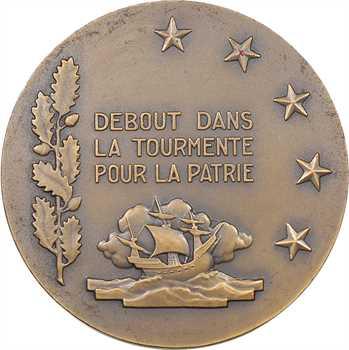 IIe Guerre Mondiale, François Darlan, amiral de la flotte, par G. Guiraud, petit module, s.d. Paris