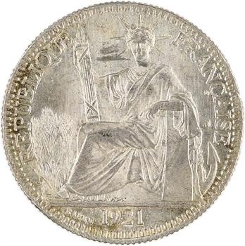 Indochine, 10 centièmes, 1921 Paris