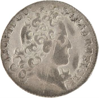 Lorraine (duché de), Léopold, Masson de 12 sous, 1728 Nancy