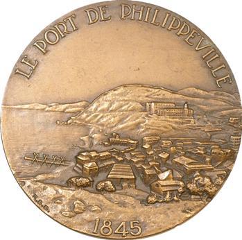 Algérie, centenaire du port de Philippeville (Skikda), 1845-1945