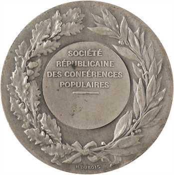 IIIe République, Société Républicaine des conférences populaires, par Daniel-Dupuis, s.d.