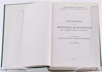 Hennequin (G.), Catalogue des Monnaies Musulmanes, Asie pré-Mongole, Les Salǧūqs et leurs successeurs, Bibliothèque Nationale, Paris 1985