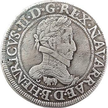 Béarn (seigneurie de), Henri II, franc, 1584 Pau