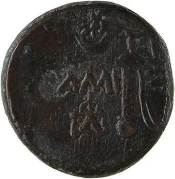 Pont, Amisos, bronze AE20, 100-85 av. J.-C