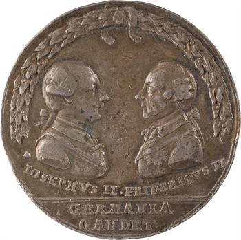 Allemagne, Joseph II et Frédéric II, la paix de Teschen, 1779