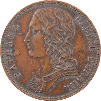 Louis XVIII, la Société des Trente à Rouget, Raphaël Sanzio, par Tiolier, 1812-1820 Paris